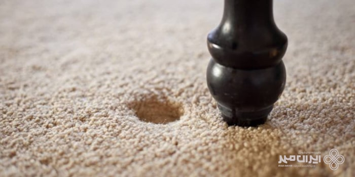 کوبیدگی فرش