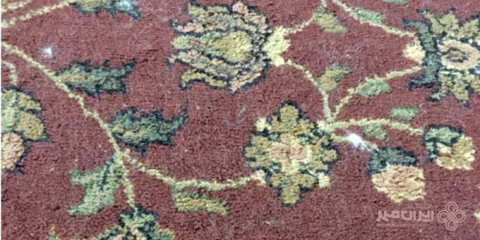 پرز اضافی فرش های نو